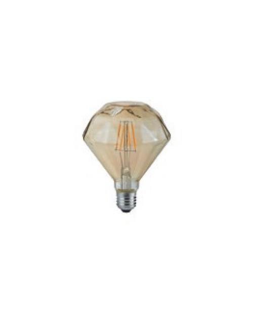 Bombilla LED Filamento 4W E27 2700K Prisma Decorativa.