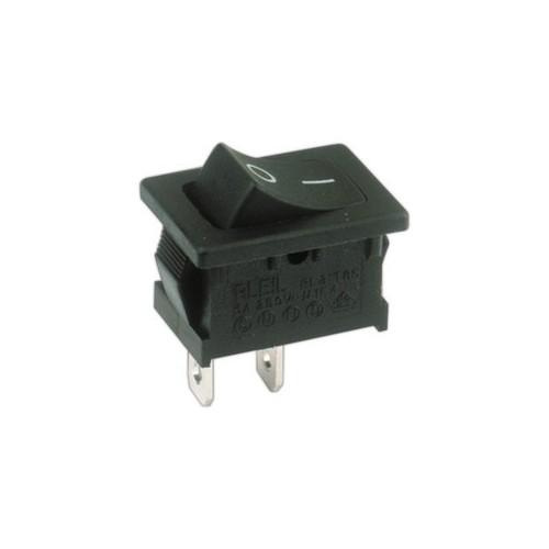 Interruptor unipolar  10A/250V  Faston 4.8  ON - OFF