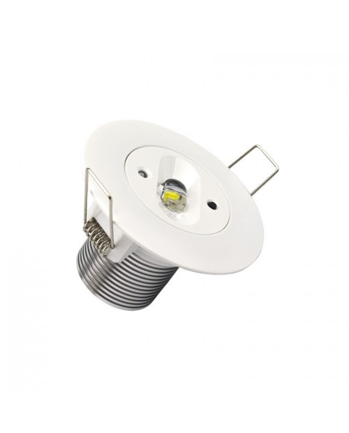 Emergencia Led Downlight Empotrable 5W 6000K