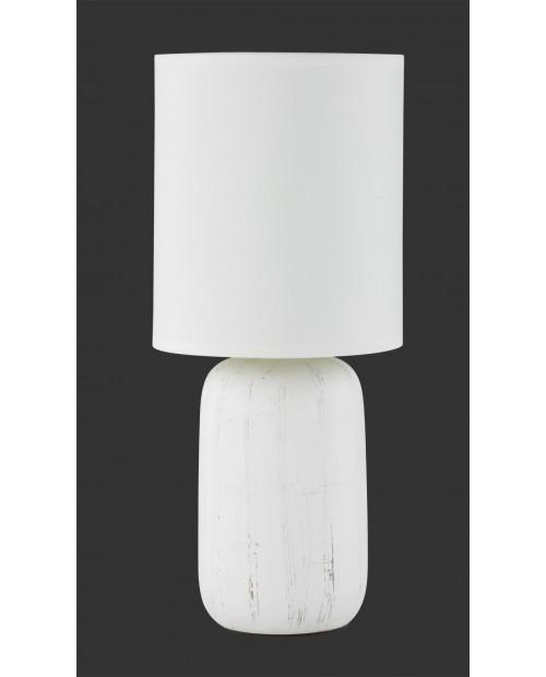 Sobremesa Clay 1 x E14 Blanco Cerámica
