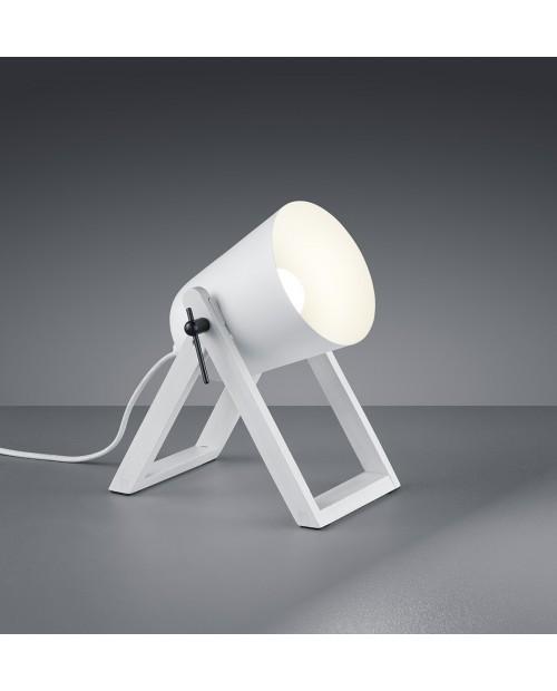 Lámpara de Mesa Modelo Marc Alfombra Blanca.