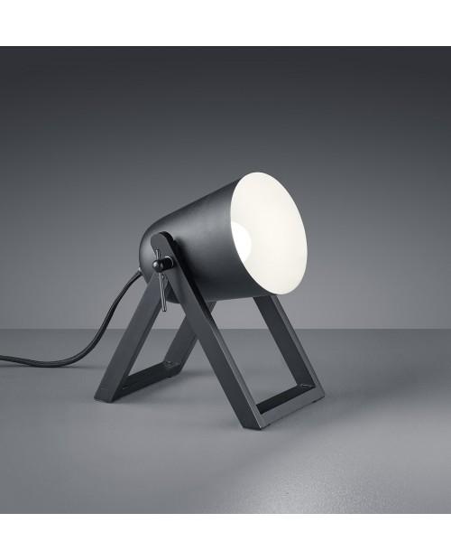 Lámpara de Mesa Modelo Marc Tapete Negro.