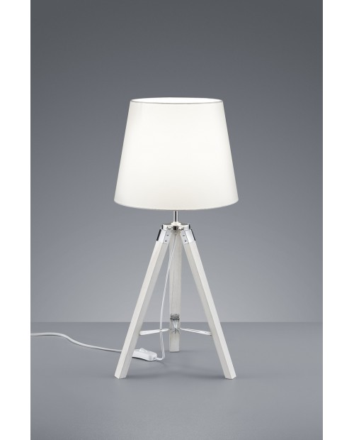 Lámpara de Mesa  Tripod Blanco