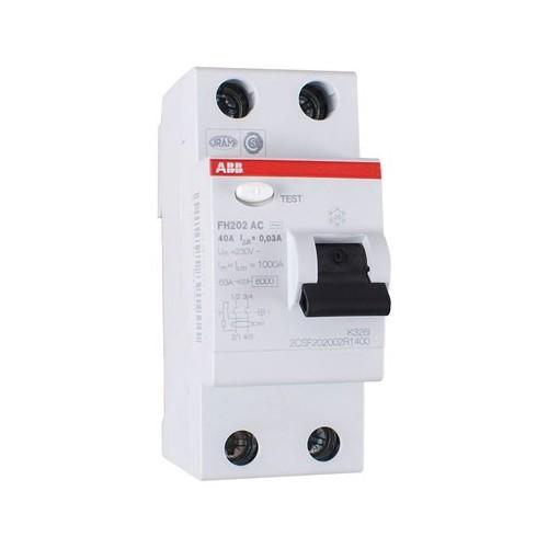 Interruptor Diferencial 2P 40A 30mA ABB