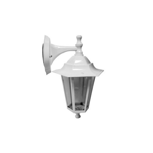 Aplique Farol Alum Blanco E27 IP44