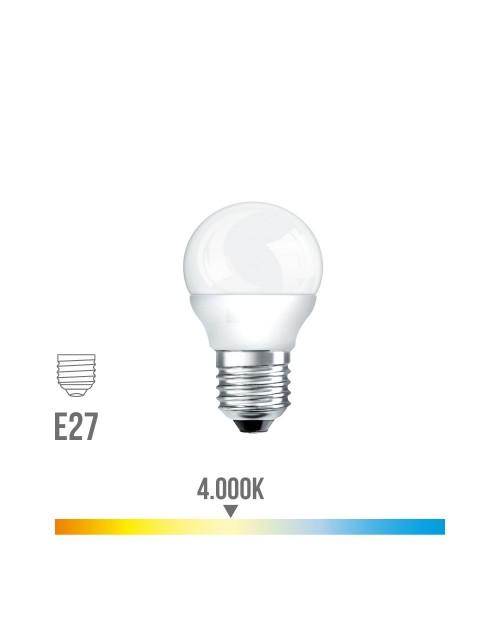 Bombilla Led Esferica 7w E27 4000K