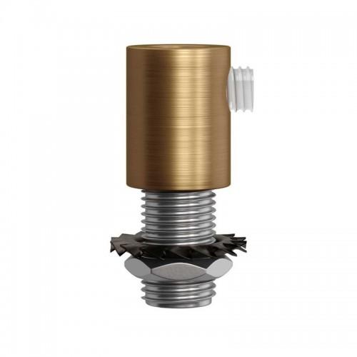 Prensacable Metal Latón Satinado 1.7cm