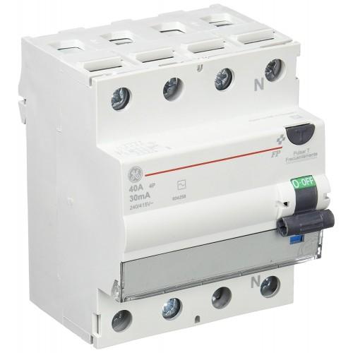 Interruptor Diferencial 4P 40A 30mA G.E.