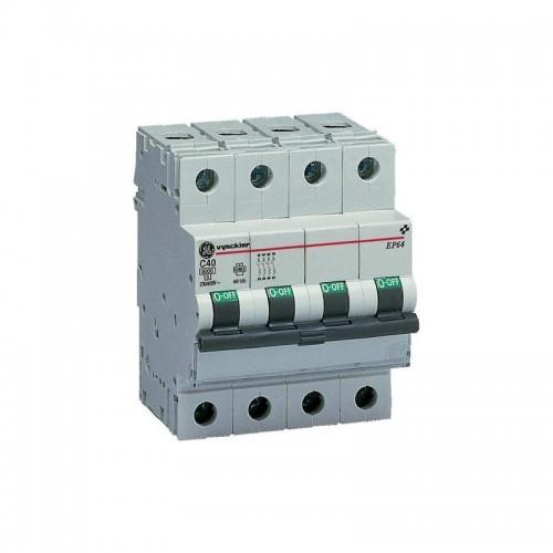 Interruptor Magnetotérmico 4P 10A G.E.