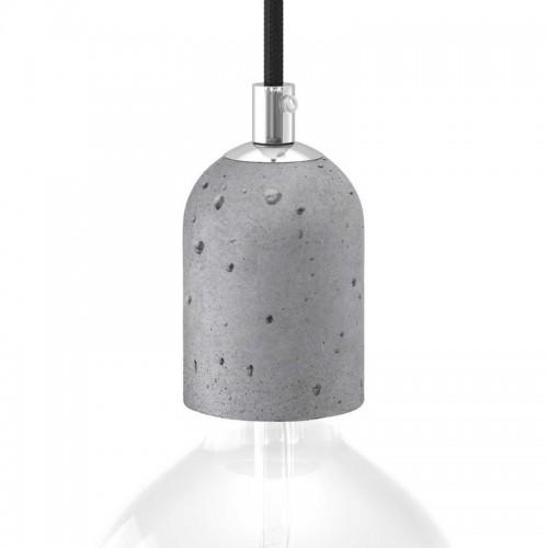 Kit Portalámparas E27 Cemento