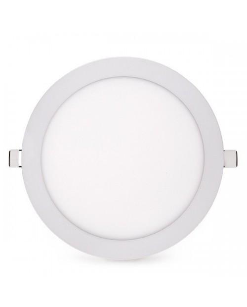 Panel LED Circular 18W 12V Empotrable Blanco