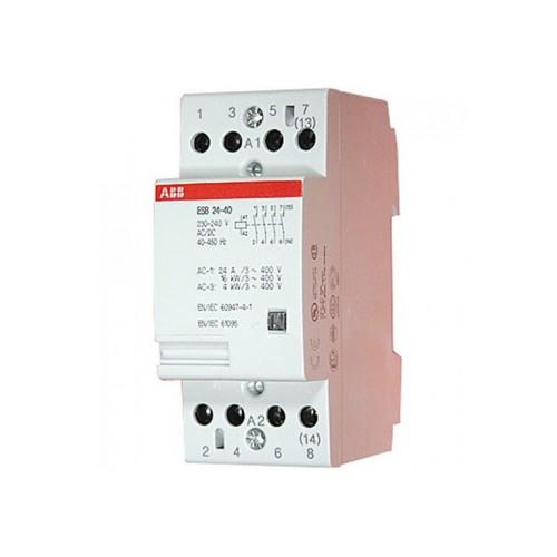 Contactor Modular 24A 230V 4NA ABB