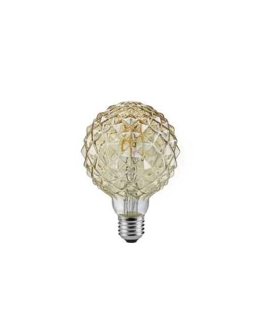Bombilla LED Filamento 4W E27 2700K Globe Decorativa