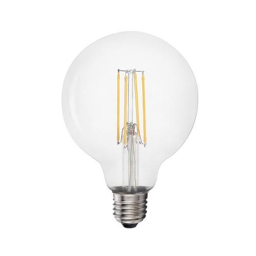 Bombilla LED Filamento Globo G95 6W E27 3200K