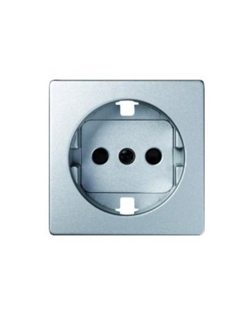 Tapa Enchufe Aluminio Detail Simón 82