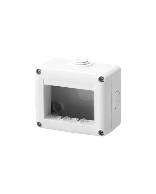 Caja Superficie 3 Modulos IP40
