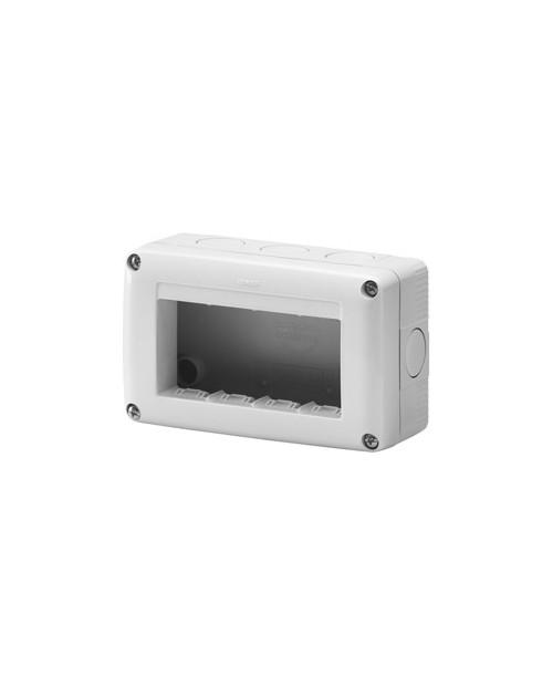 Caja Superficie 4 Módulos IP40