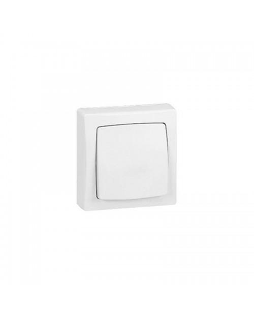 Interruptor/Conmutador Blanco Superficie Legrand Oteo